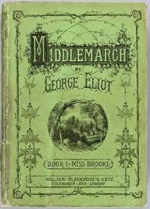 Cover from Book 1 of Middlemarch