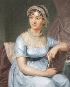 Jane Austen, as drawn by her sister Cassandra