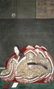 Portrait of Murasaki Shikibu, by Kanō Takanobu
