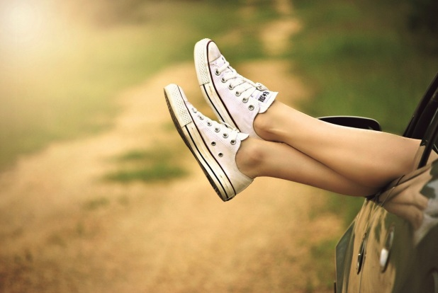 Source: Pixabay @ https://www.pexels.com/photo/nature-woman-feet-legs-51397/